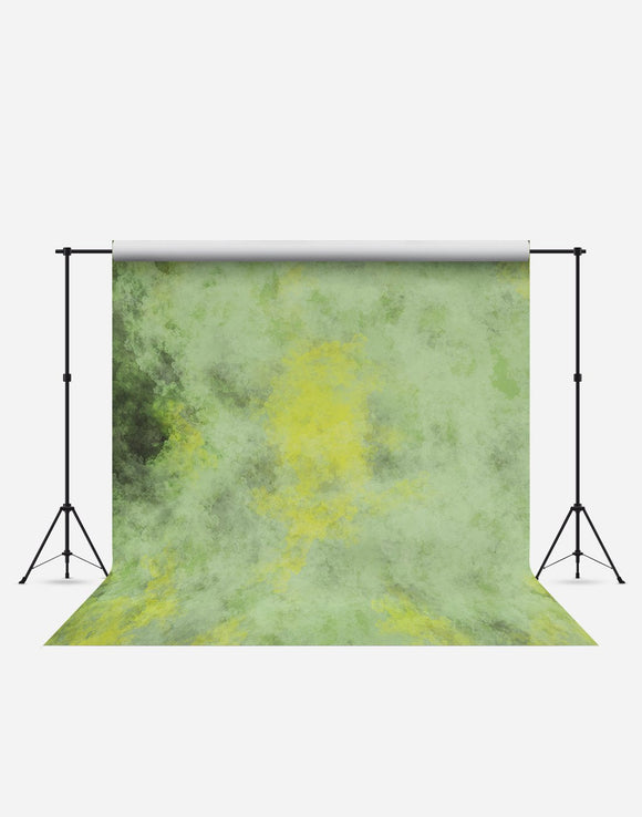 Pale Yellow Green Fashion Wrinkle Resistant Backdrop