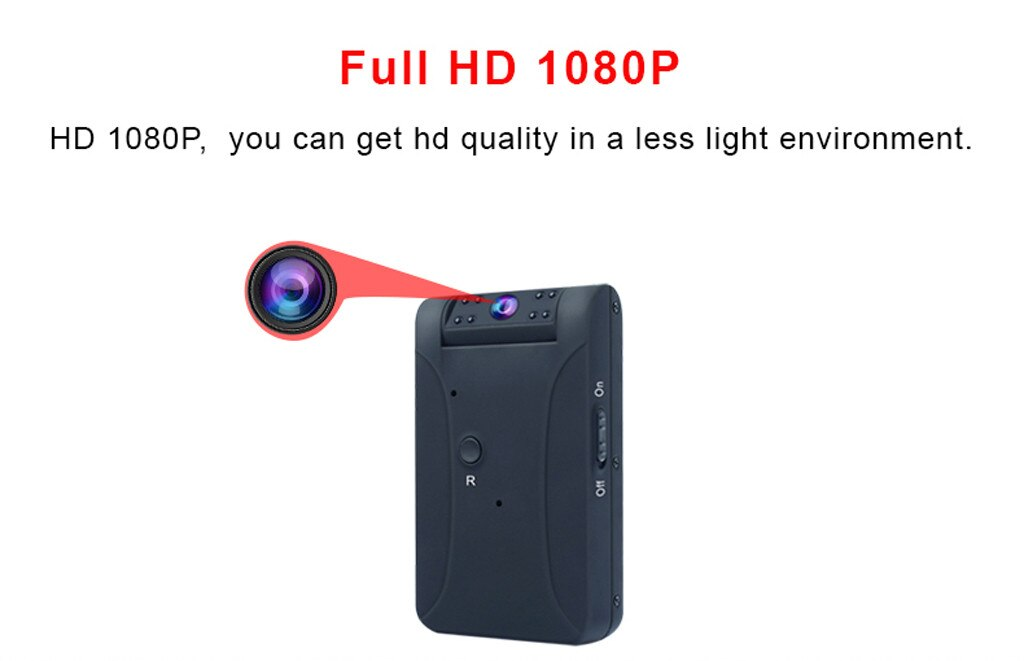 Video Camera HD Camcorder Sport Recorder Security