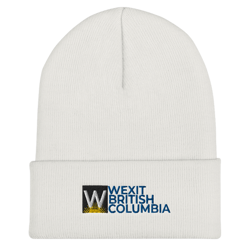Wexit B.C. Cuffed Embroidered Beanie