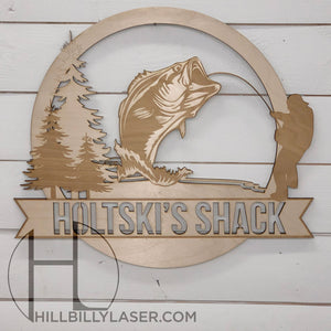 Die Cut Name Sign - Hillbilly Laser