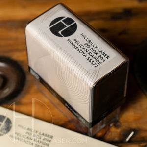 Rubber Stamp // self-inking style - Hillbilly Laser