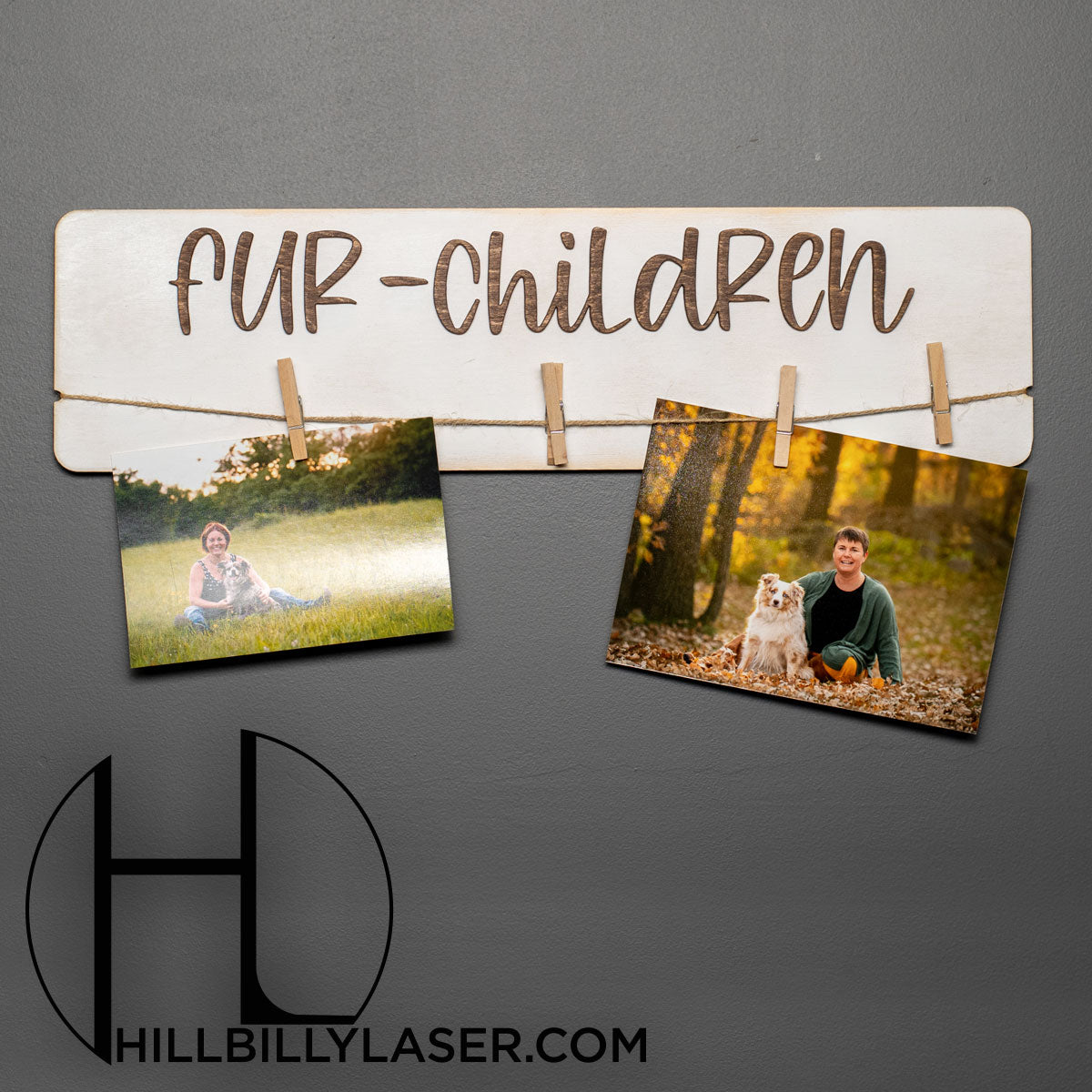 Fur-Children Photo Hanger - Hillbilly Laser