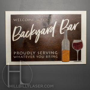 Backyard Bar - Hillbilly Laser