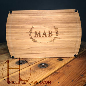 Dishwasher Safe Bamboo Cutting Board - Hillbilly Laser
