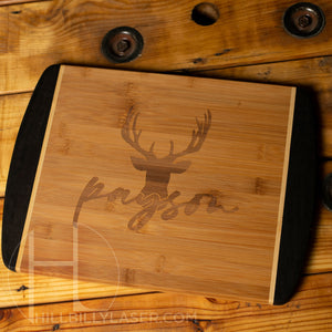 Java Bamboo Cutting Board - Hillbilly Laser