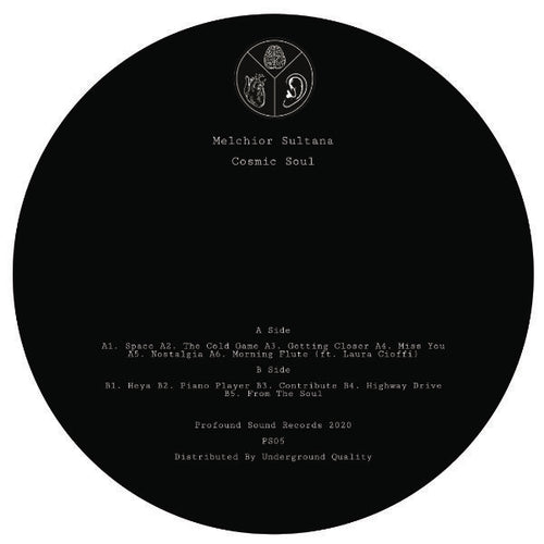 Limited Pressing Cosmic Soul Album by Melchior Sultana PS-05