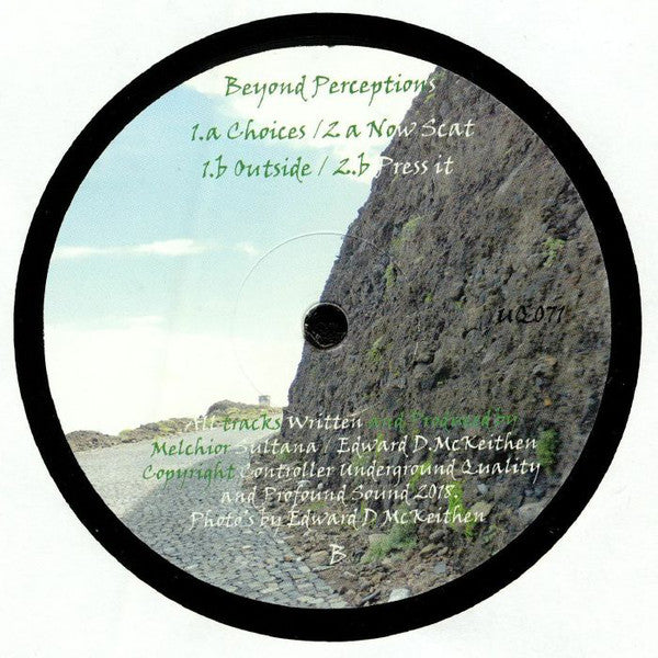 UQ-071 Beyond Perceptions Ep. Vinyl Record