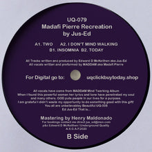 Load image into Gallery viewer, UQ-079 MADAFI PIERRE RECREATION BY DJ JUS-ED