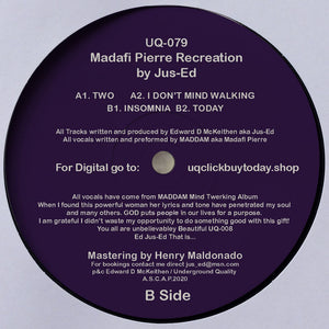 UQ-079 MADAFI PIERRE RECREATION BY DJ JUS-ED