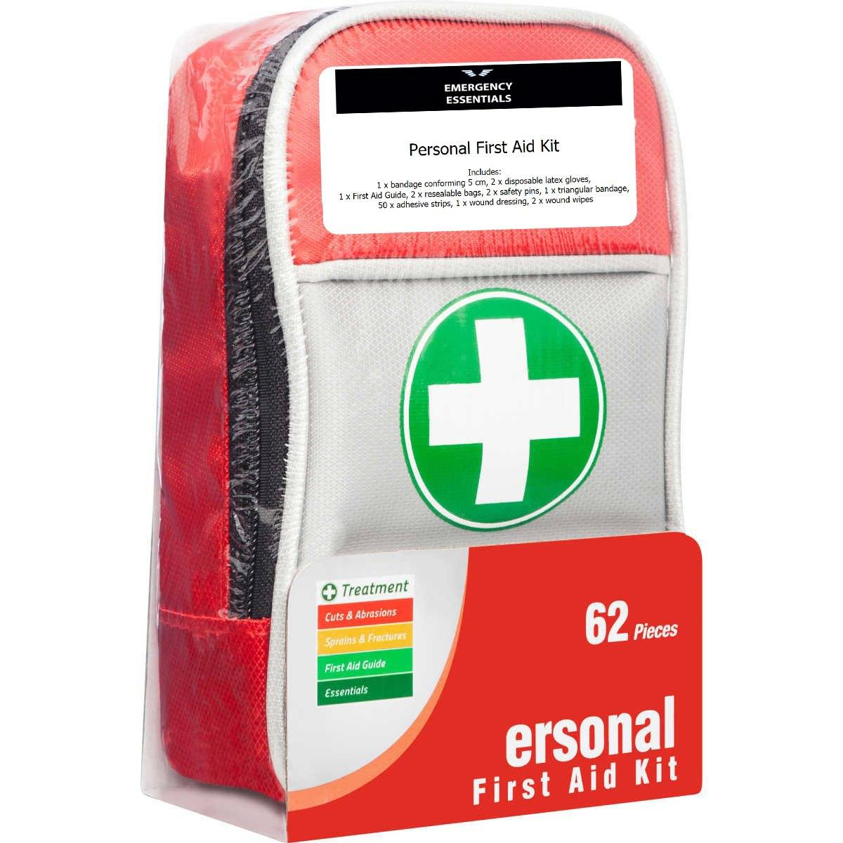 Emergency Essentials Pick - Trafalgar Personal First Aid Kit