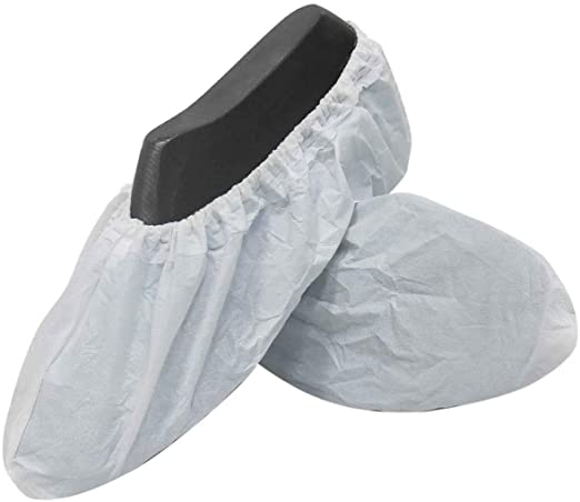 Disposable Shoe Covers - 10 Pack
