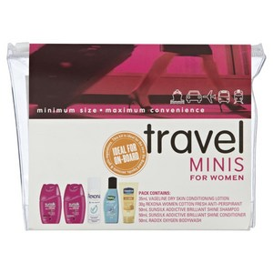 Travel Minis Travel Pack for Women