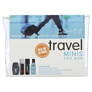 Travel Minis Travel Pack for Men
