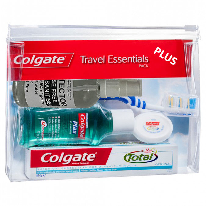 Colgate Travel Essentials Plus Pack