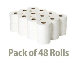 Mr Super Soft Toilet Paper - 2 ply 400 Sheets/Roll - 48 Rolls
