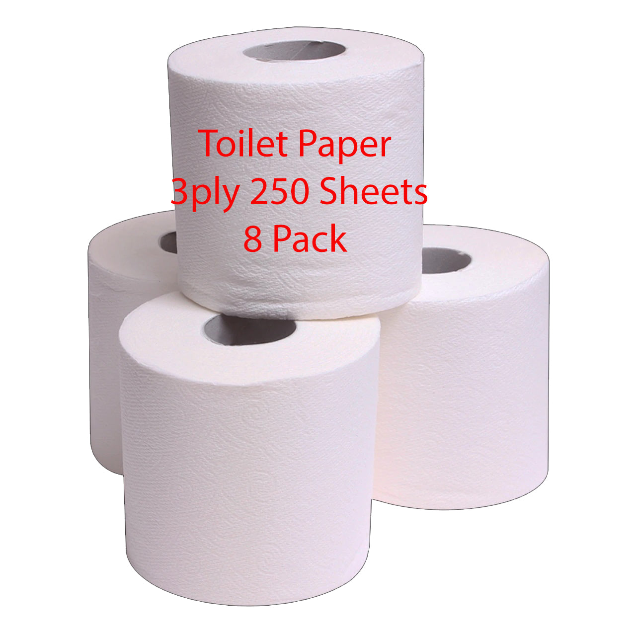 Mr. President - Toilet Paper - 3ply 250 Sheets - 4 Pack