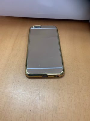 iPhone 6 Gold Reflective Case