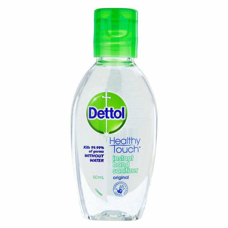 Dettol Healthy Touch Instant Hand Sanitiser KILLS 99.99% GERMS - 50ml