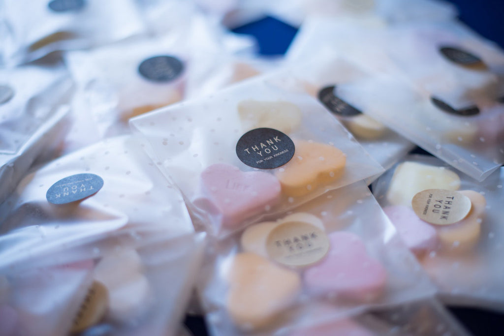 Get Inspired: Cute & Quirky Wedding Favours