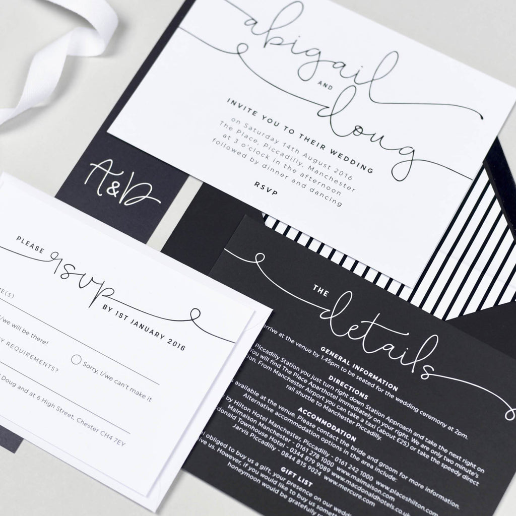 How to Make a Monochrome Themed Wedding Work