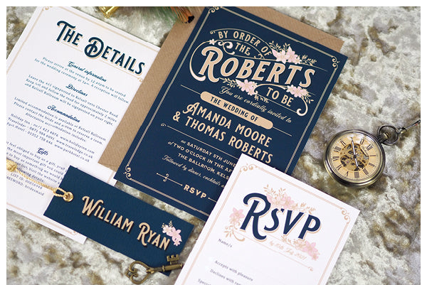 Lizzie wedding stationery collection