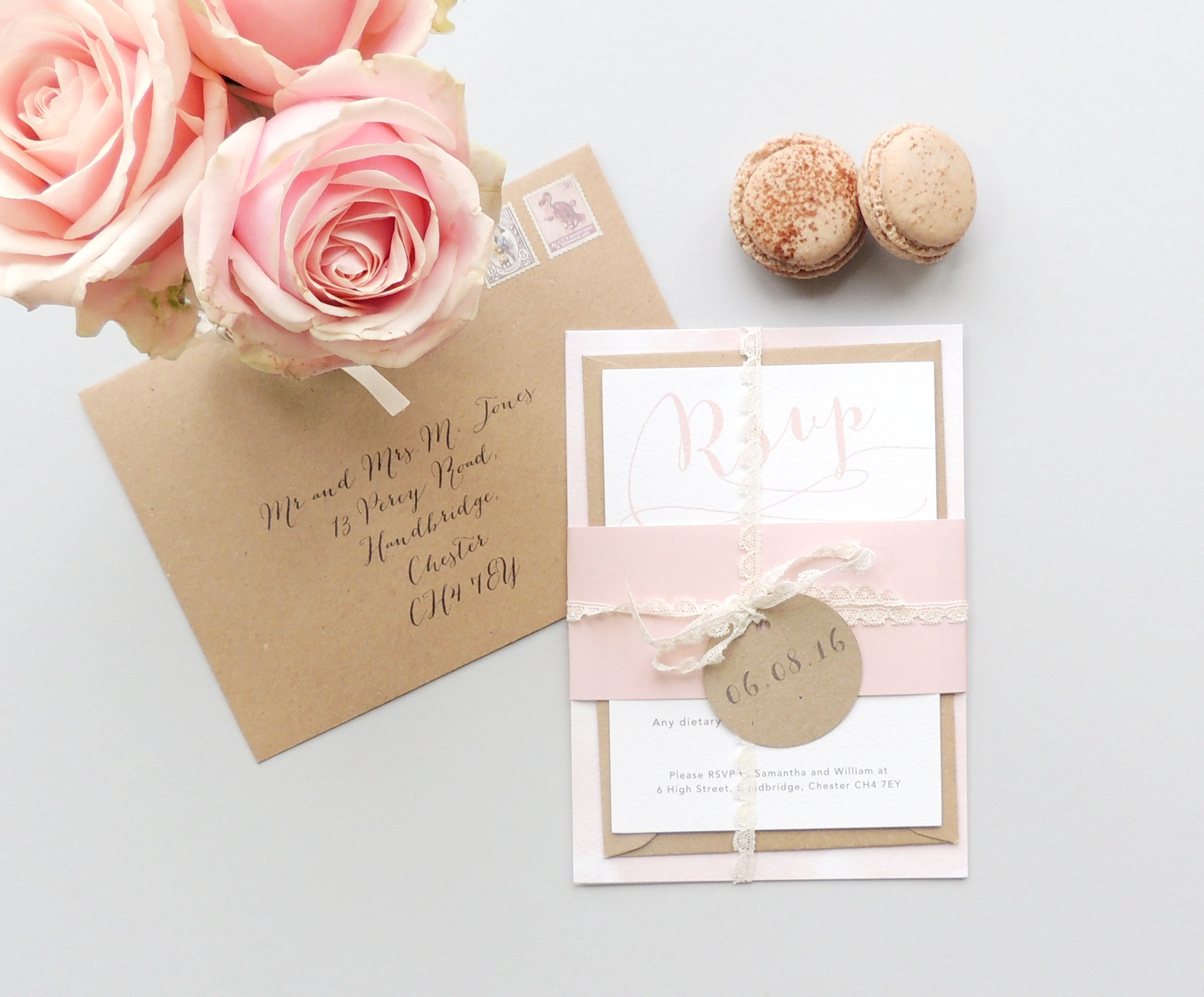 Project Pretty romance invitations