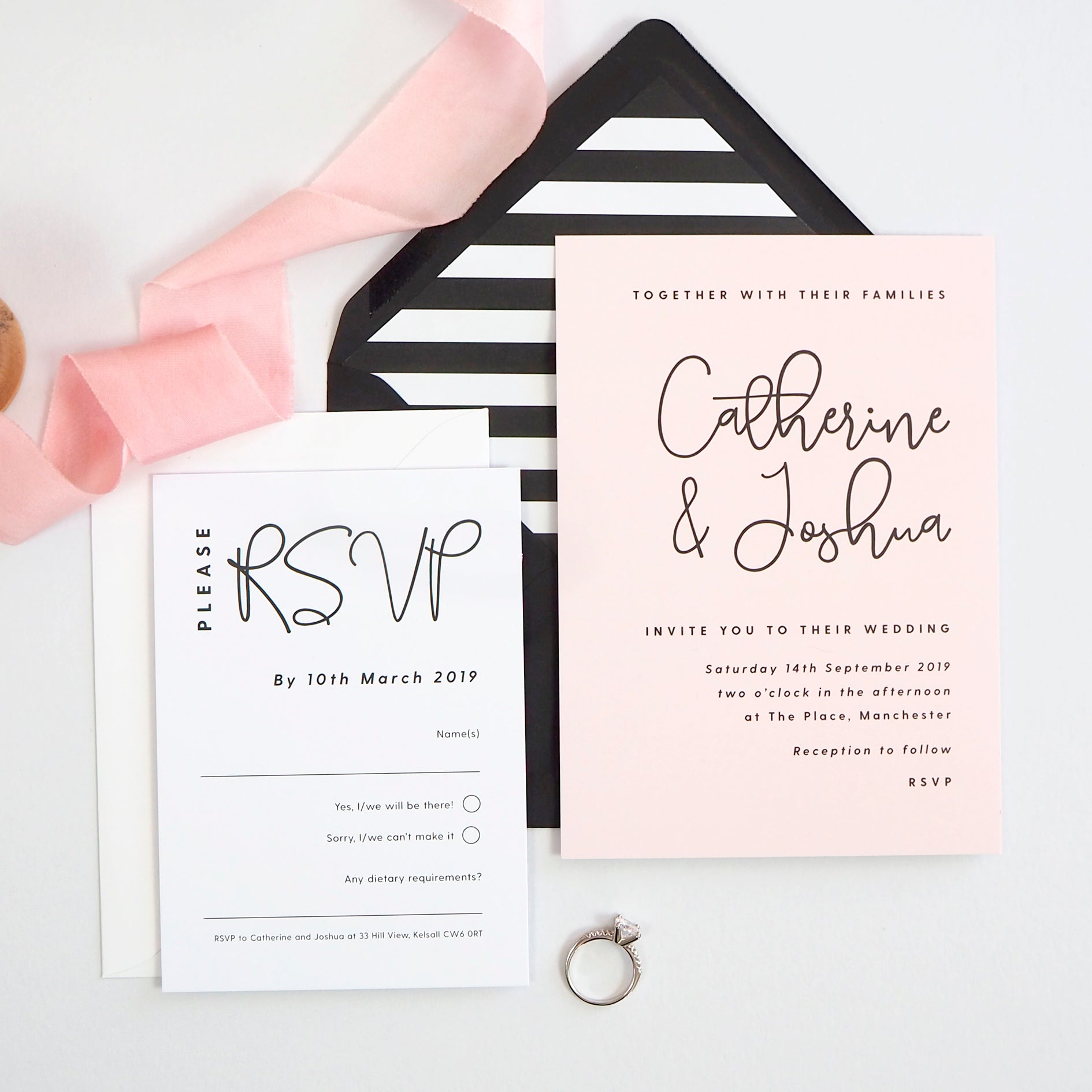 Lexi Wedding Invitation