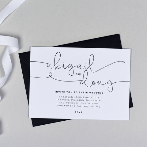 Kate Wedding Invitation
