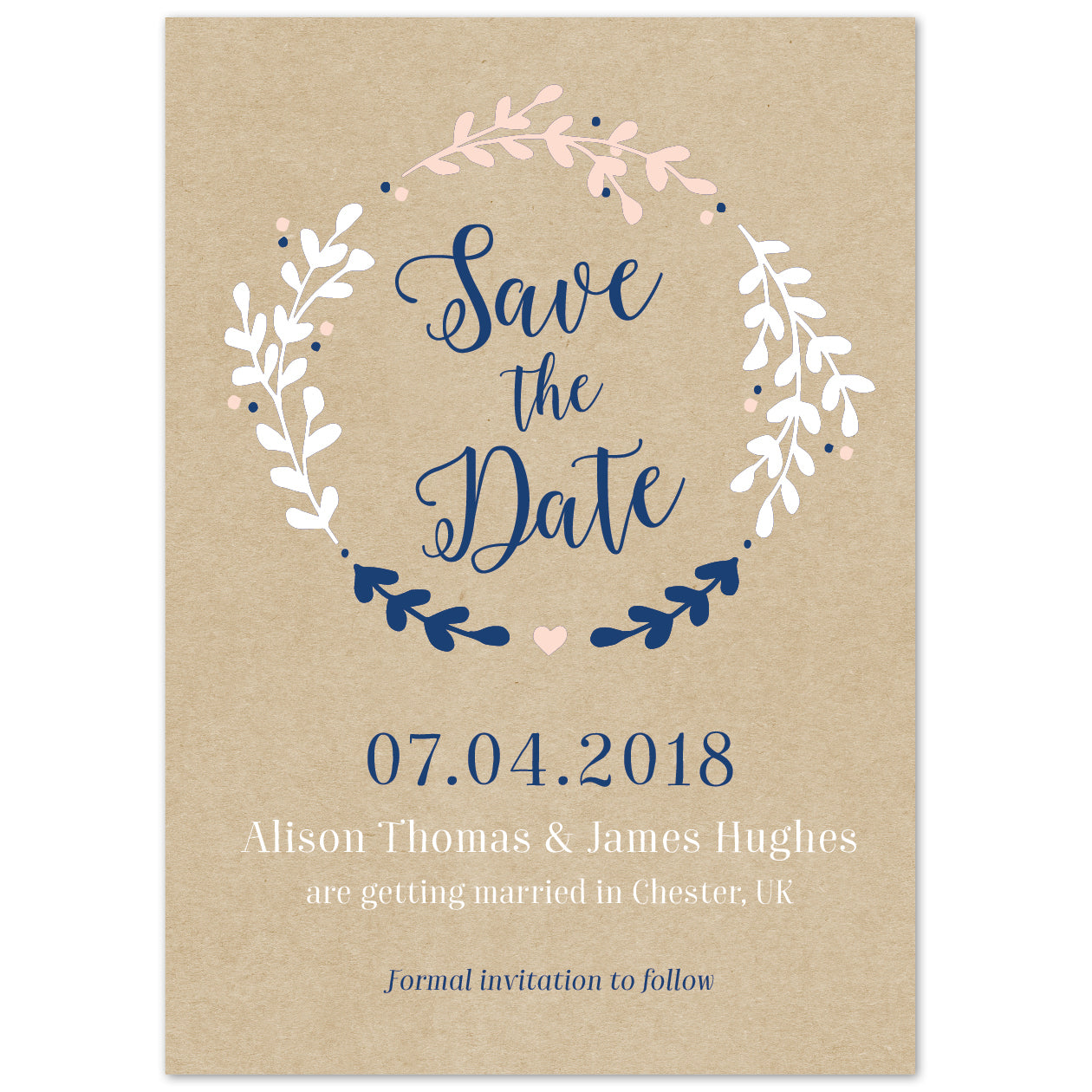 Hannah Save The Date