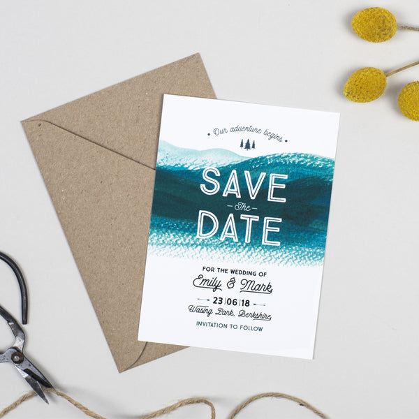 Adventure Save The Date