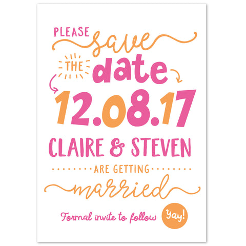Charlie Save The Date
