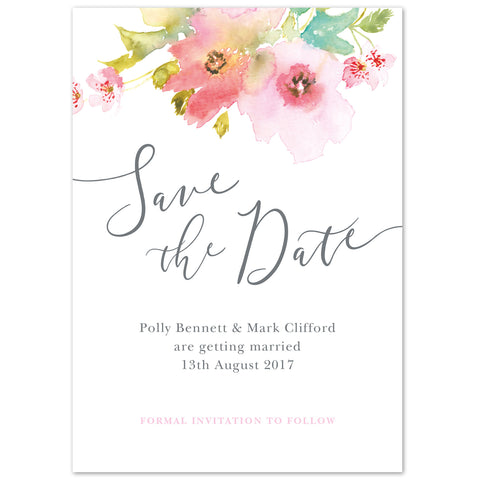 Juliette Save The Date