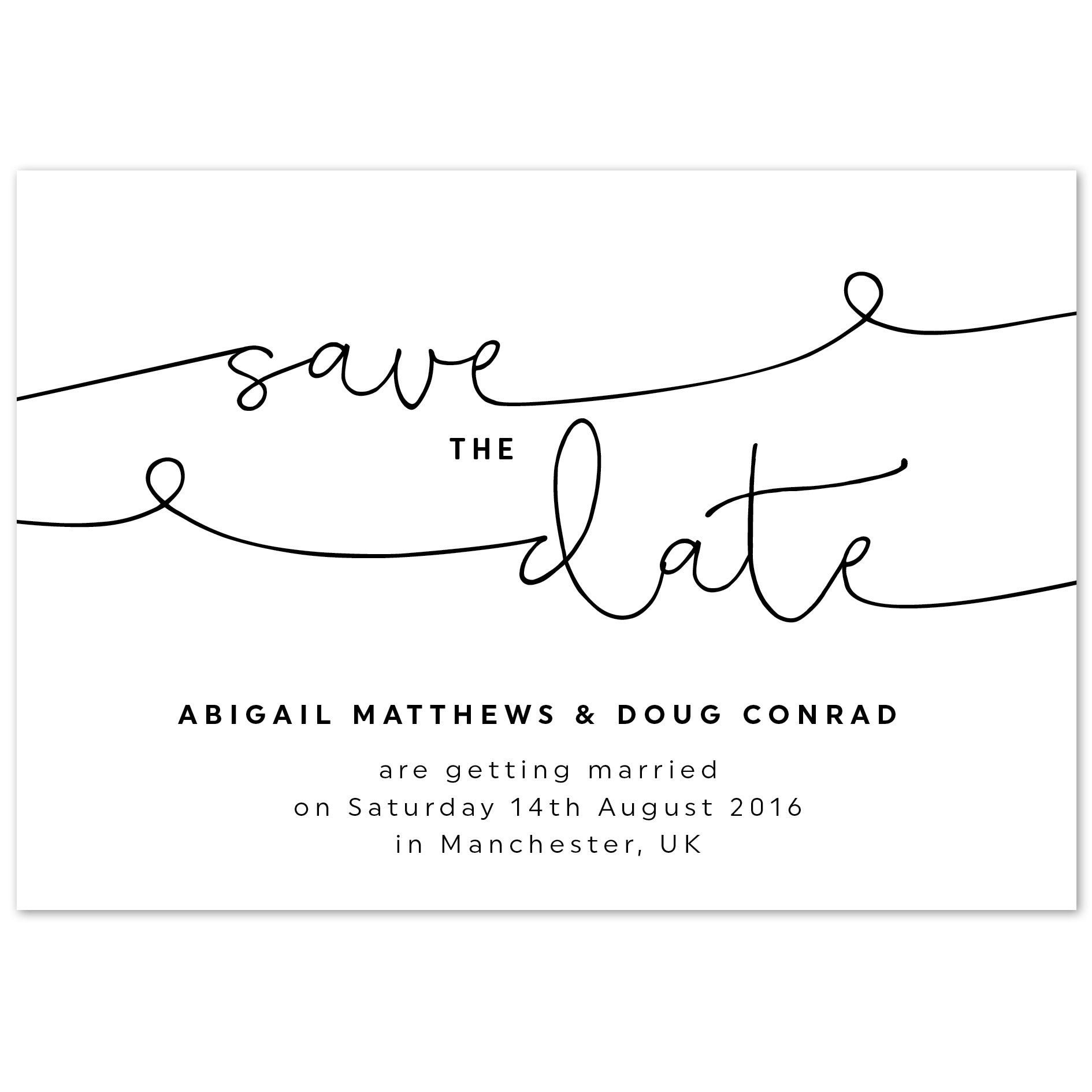 What Is Save The Date: Kate Save The Date