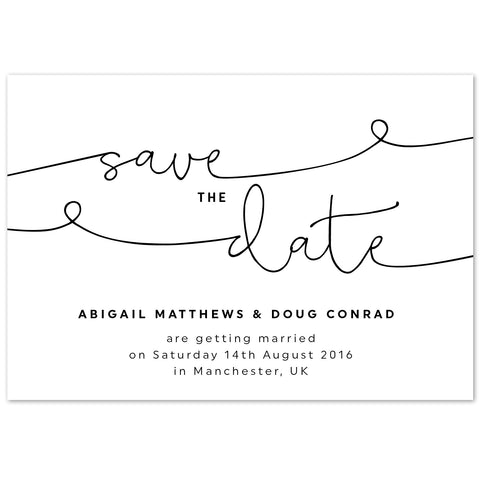 Kate Save The Date