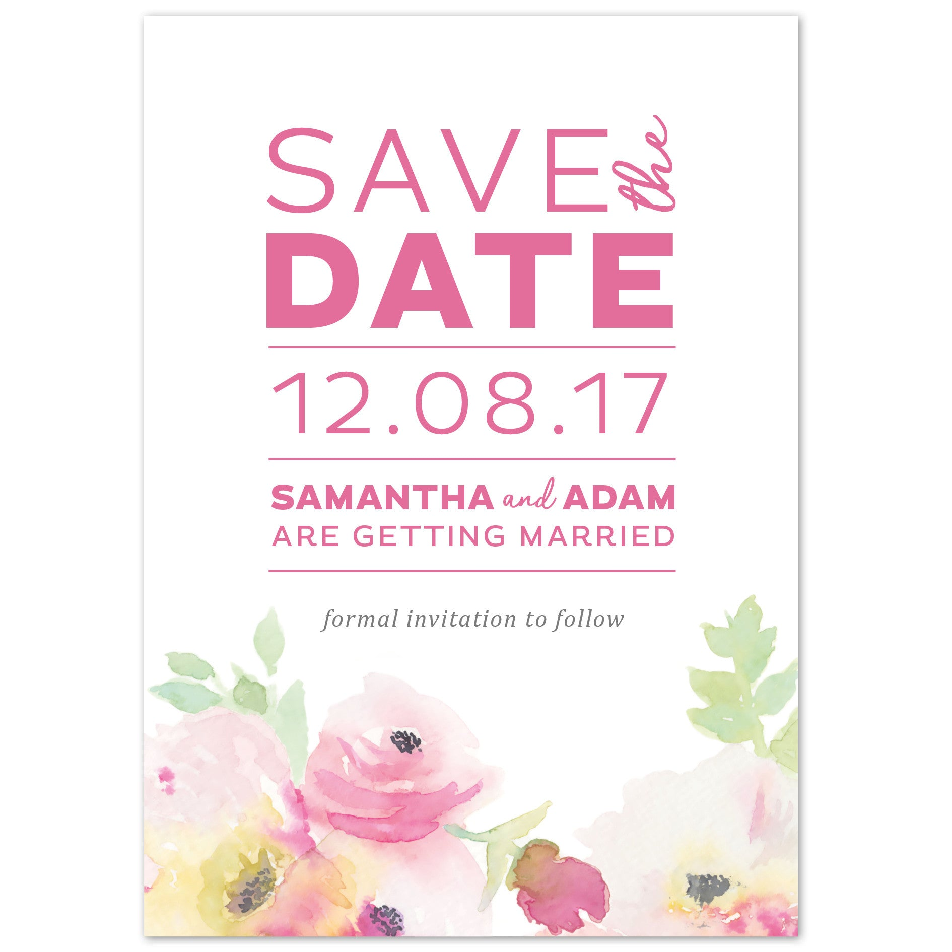 Lucy Save The Date