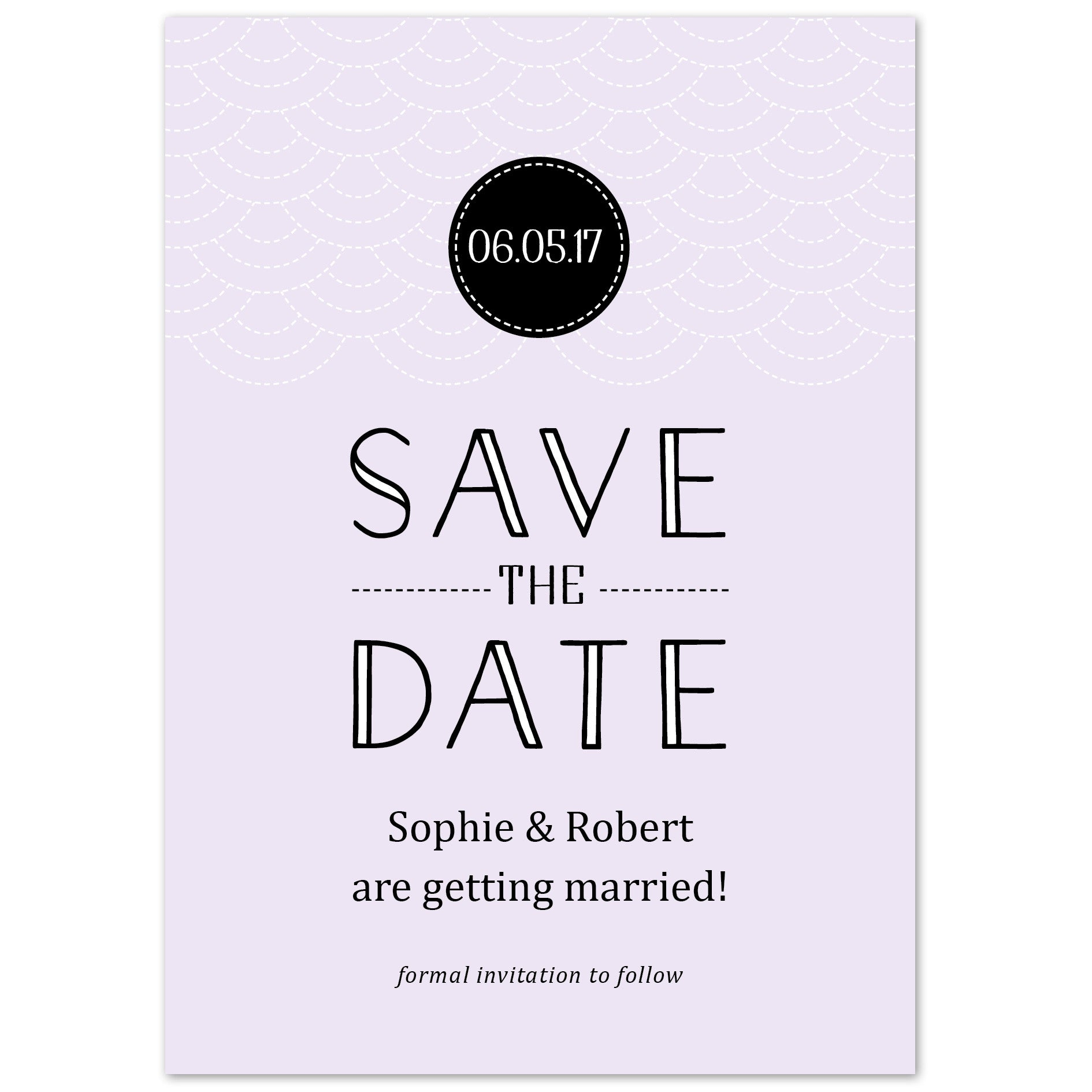 Millie Save The Date