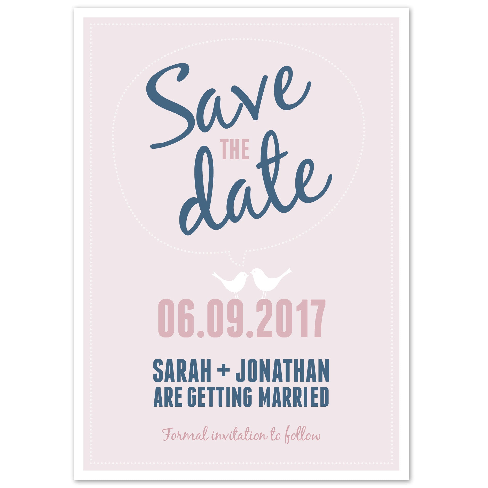 Amy Save The Date