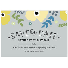 Poppy Save The Date