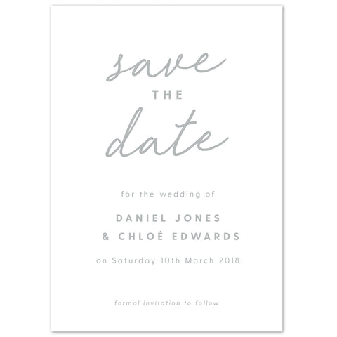 Rachel Save The Date