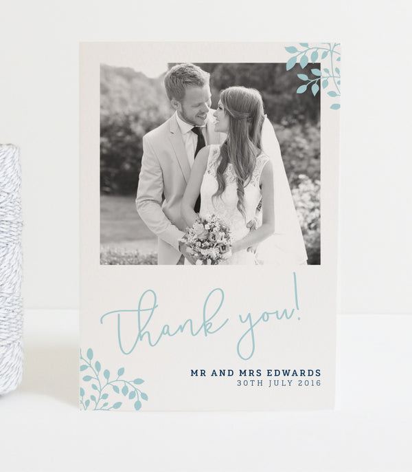 Alice Wedding Photo Thank You Cards - Project Pretty  - 1