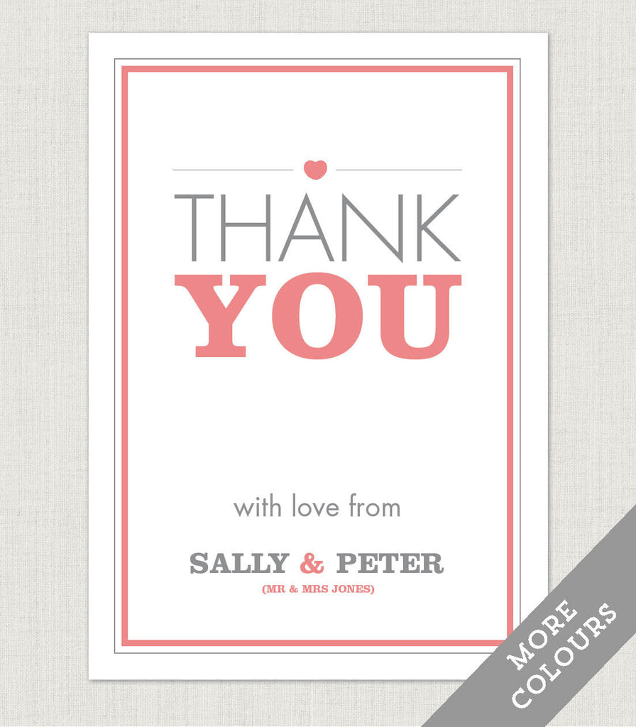 Amelia Thank You Card - Project Pretty  - 1