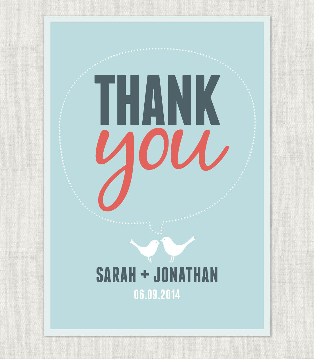 Amy Thank You Card - Project Pretty  - 2