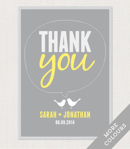 Amy Thank You Card - Project Pretty  - 1