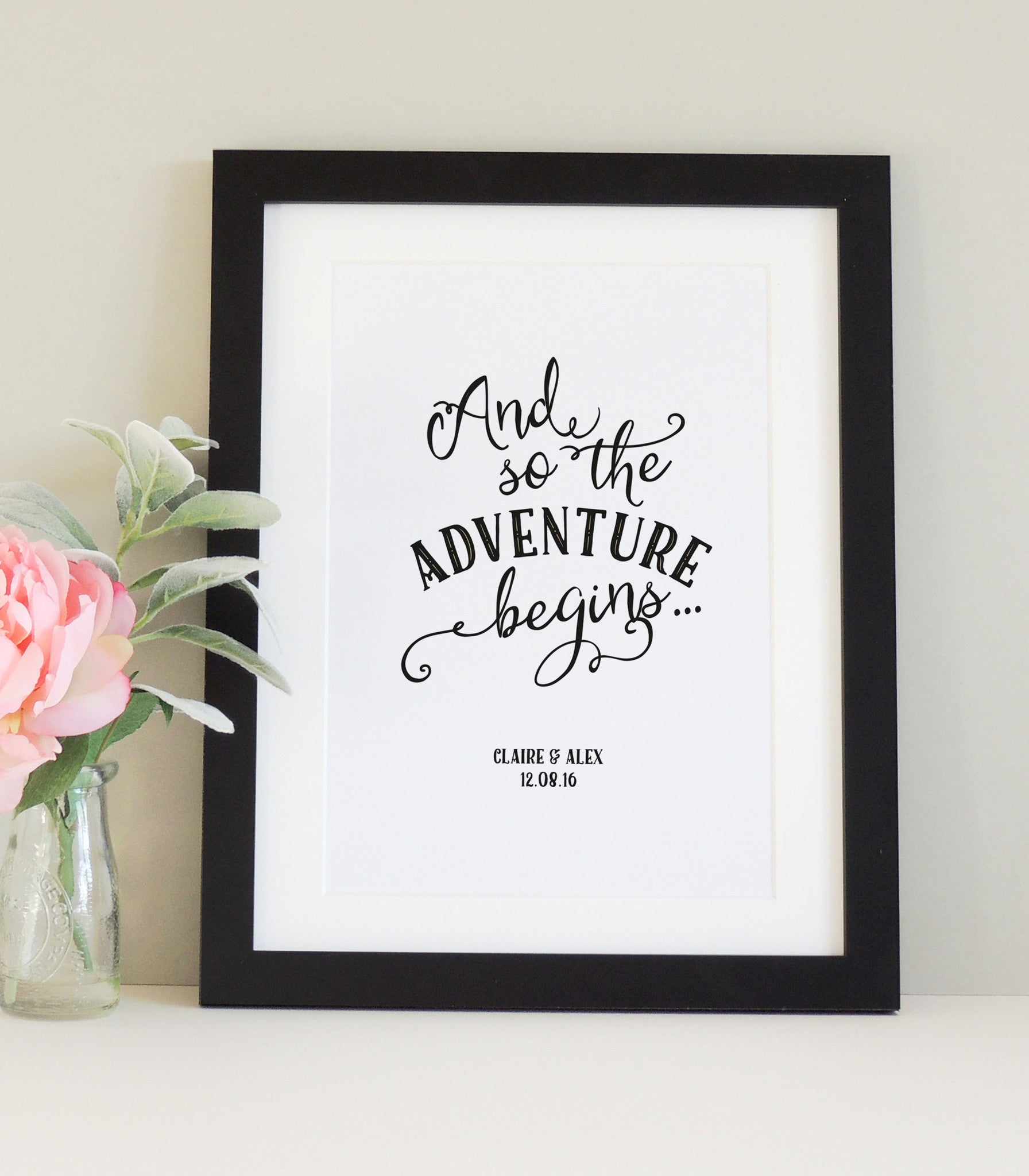 Personalised 'Adventure' Print - Project Pretty  - 1