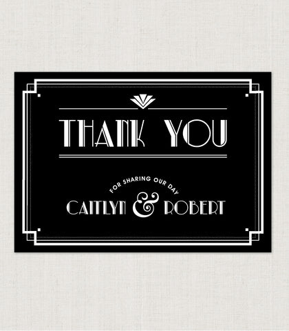Estelle Thank You Card