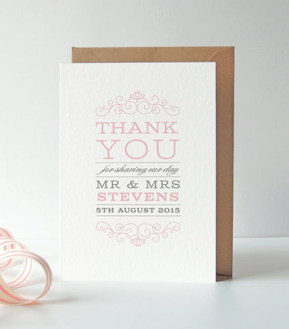 Eva Thank You Card