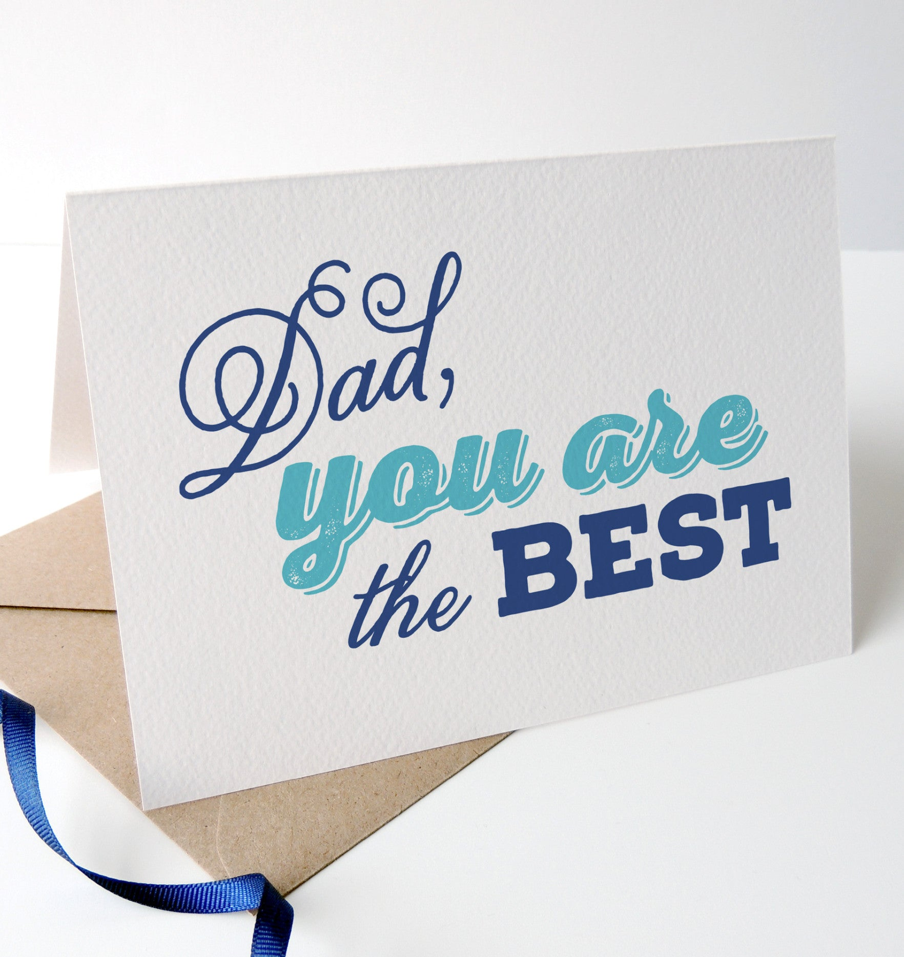 'Dad you are the best' Fathers Day Card - Project Pretty  - 2