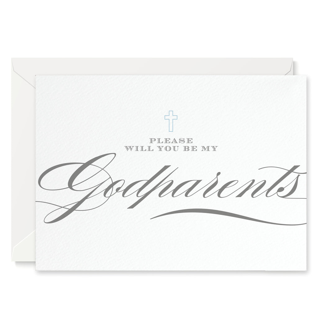 Script 'Will You Be My Godparents?' Card - Project Pretty  - 1