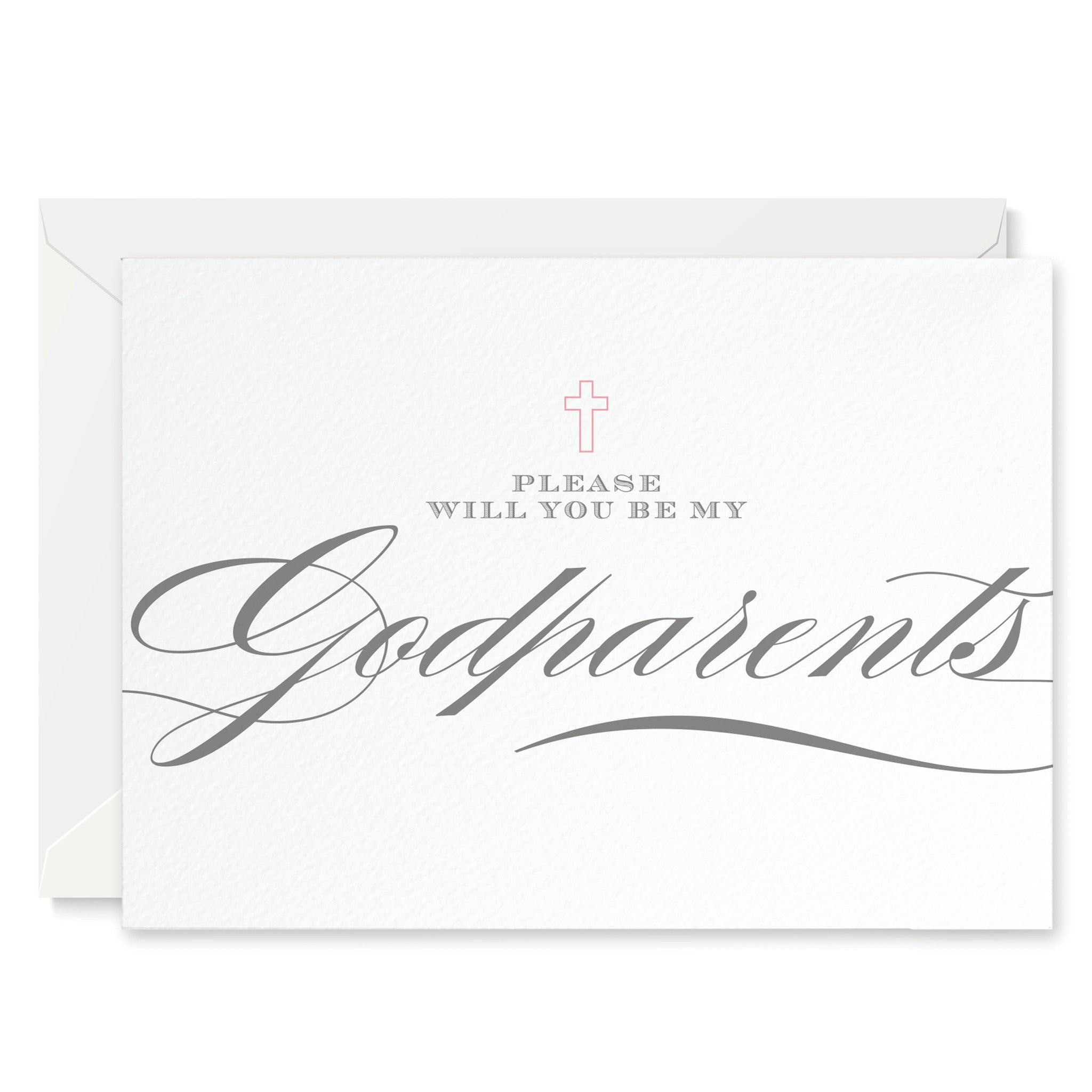Script 'Will You Be My Godparents?' Card - Project Pretty  - 2