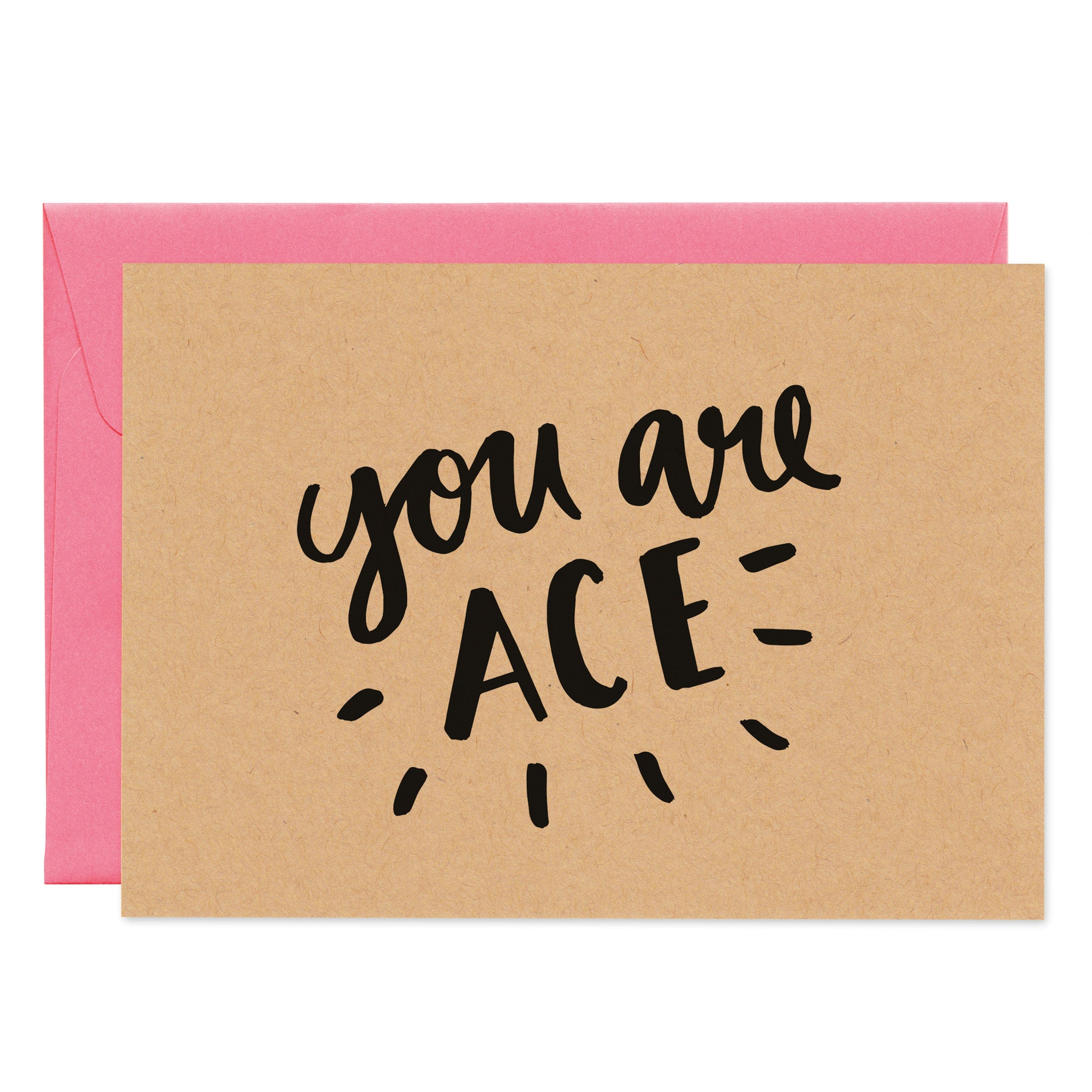 'You Are Ace' Card - Project Pretty